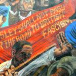 Cable Street murale (particolare) - Vanloon