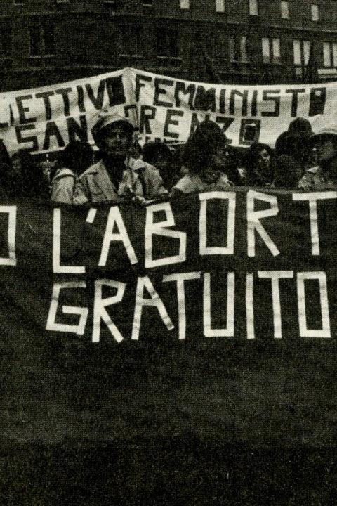 Lotte per l'aborto tra Italia e Francia