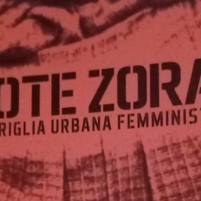 guerriglia urbana femminista Rote zora