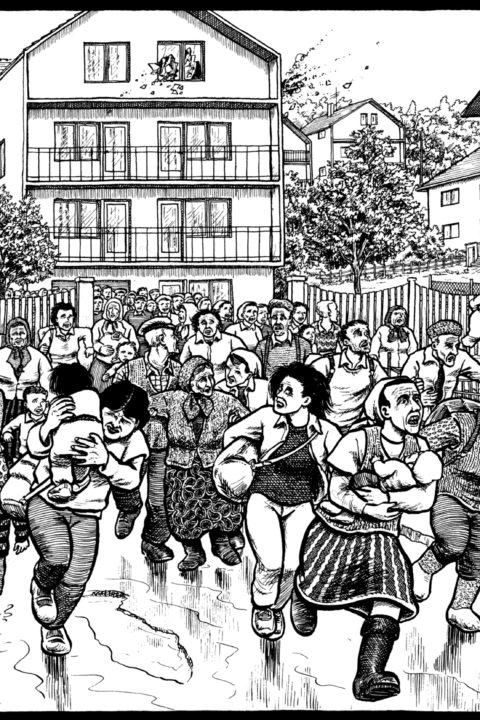 Nove fumetti per comprendere le guerre nei Balcani
