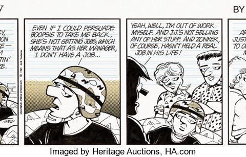 Doonesbury: 50 anni di storia statunitense a fumetti
