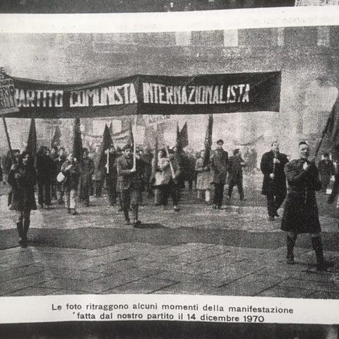 12 dicembre 1970: la morte di un comunista, Saverio Saltarelli